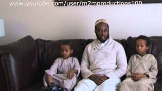 Shiekh jamac Hareed interviews 5 year old boys about Islam & tawheed