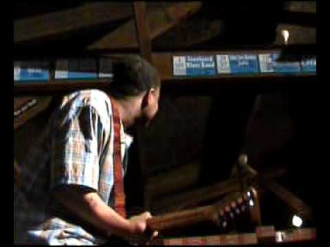 TYREE NEAL and the KENNY NEAL BAND at Banana Peel blues club Belgium