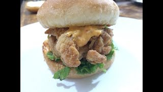 Chickfila Sandwich (ZINGER Burger) Recipe By Food Scientist
