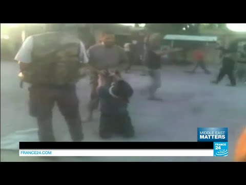 Subscribe to France 24 now: http://f24.my/youtubeEN FRANCE 24 live news stream: all the latest news 24/7 http://f24.my/YTliveEN  This man risked his life to cross dozens of checkpoints to slip over the Syrian border into Turkey to show the world acts carried out by the Islamic State organization in the town of Deir Ez-Zor. \