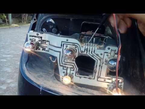 CITROËN XSARA GLX 2002 não acende as lâmpadas  traseiras fácil de resolver