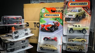 Lamley Unboxing: Matchbox 2019 R Case w/ Target Gold Exclusives (Final Case of the Year!)