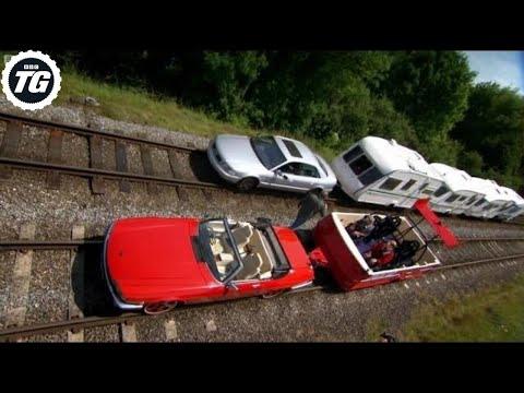 Caravan Train Part 2 - Top Gear - BBC