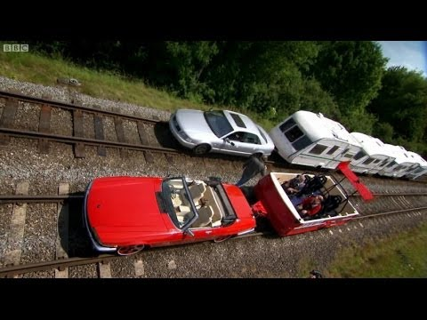 Caravan Train Part 2 | Top Gear | BBC