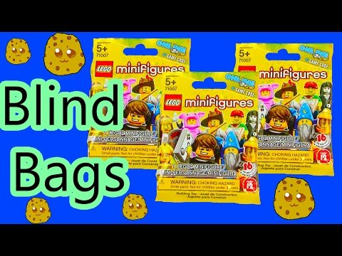 Lego Series 12 Collection Blind Bags Opening Toy Review Unboxing Cookieswirlc