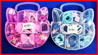 Đồ chơi phụ kiện bé gái Hello Kitty, dây chuyền, mắt kinh, dây chuyền, cột tóc cho bé (Chim Xinh)