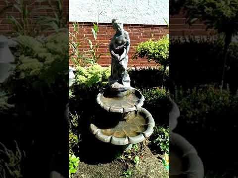 , mein neuer Brunnen im Garten