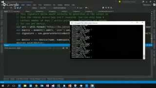 ANZ Coders 2015 - Azure Event Hubs