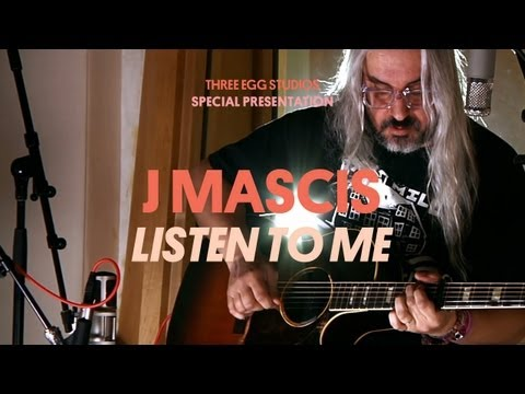 J Mascis - Listen To Me - Three Egg Studios