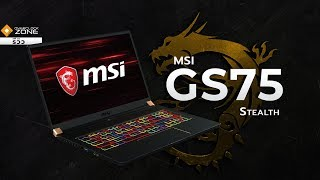 "Gaming Notebook จอ 17.3"" RTX2070 พกพาได้ : MSI GS75 Stealth 8SF"