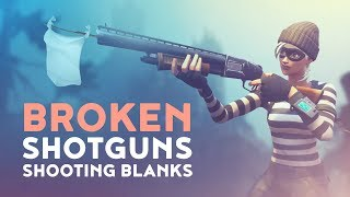BROKEN SHOTGUNS! - WHY ARE WE SHOOTING BLANKS? | FTH Ep. 29 (Fortnite Battle Royale Best Moments)