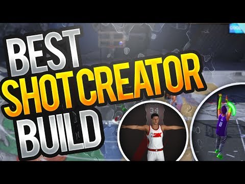 NBA 2K18 Tips: BEST SHOT CREATOR BUILD - HOW TO CREATE A 99 OVERALL OVERPOWERED SHOT CREATOR! CHEESE