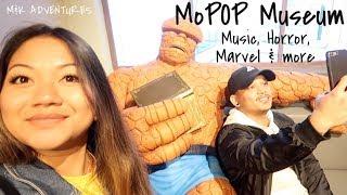 M&K Adventues: MoPOP Museum (music, horror, marvel & more)
