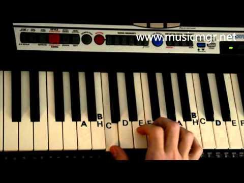 Jak Zagrać Na Keyboardzie #1 - Panie Janie - Keyboard