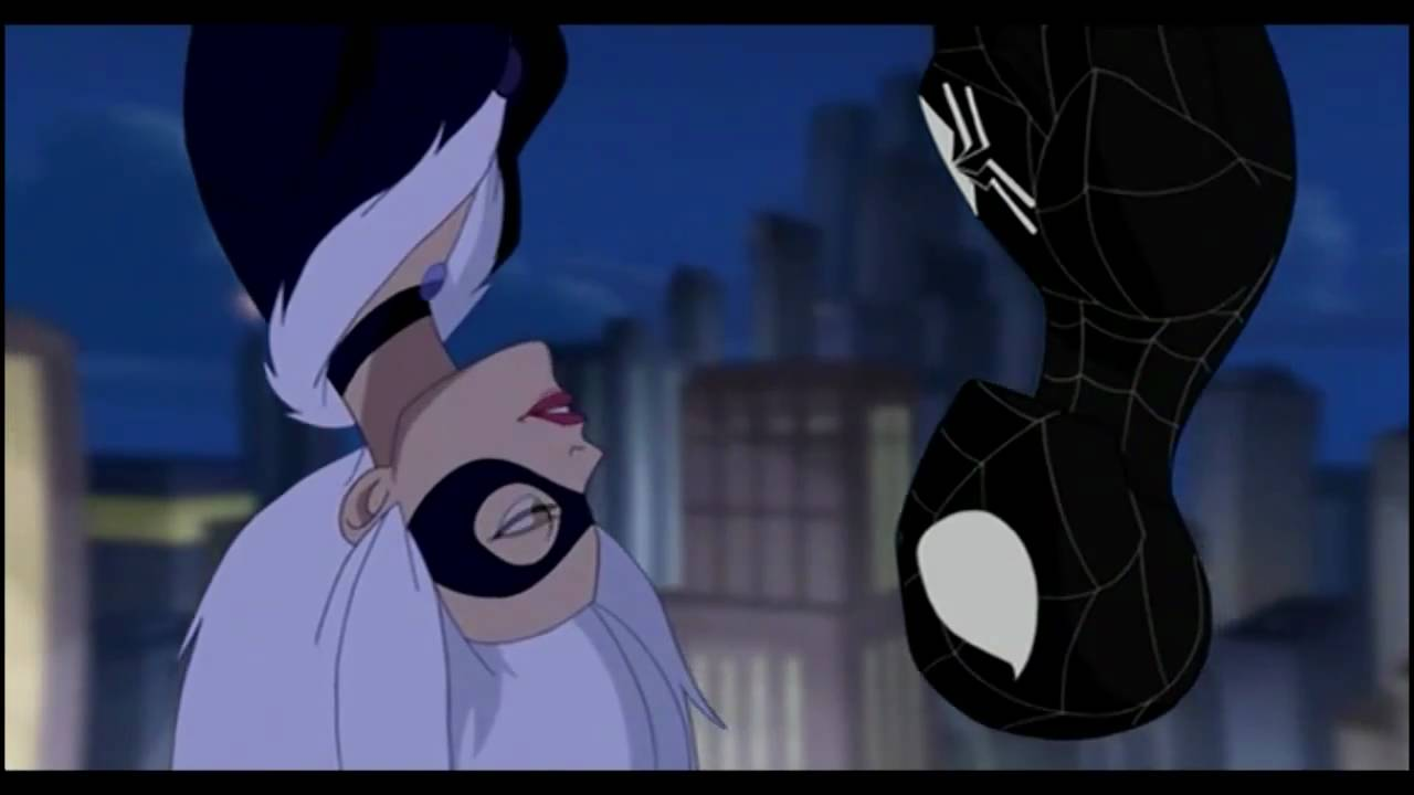 Kiss Black Man Spider-man And The Black Cat