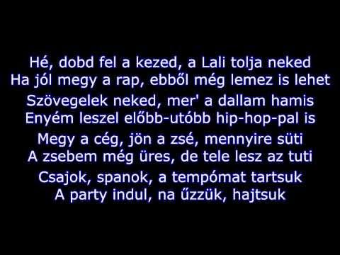 Csóró Lali - Lali Pop (szöveggel)