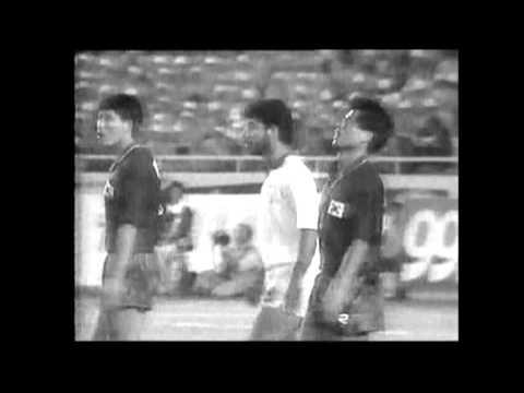 کره جنوبی ۰ - ایران ۱ (نیمه نهایی مسابقات آسیایی پکن ۱۹۹۰)