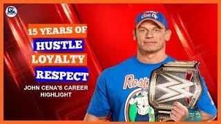 John Cena 15 Year's Career Highlights, Total Fight, Opponent, Titles