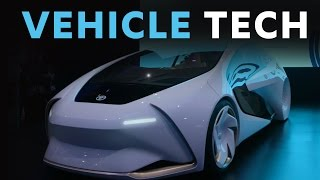 Buckle Up! Exploring Vehicle Technology on the CES 2017 Show Floor