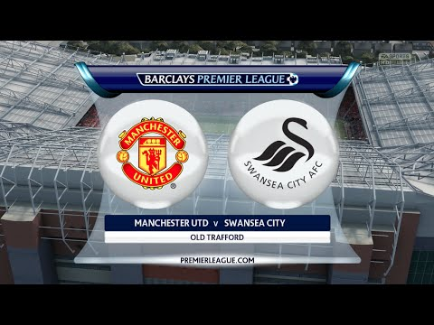 FIFA 16 - Manchester United vs. Swansea City @ Old Trafford