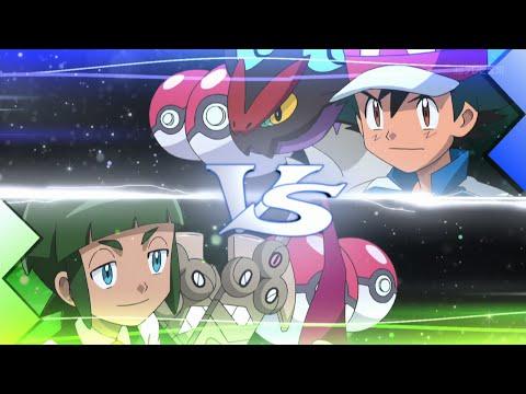 Ash vs Shota [4TH BATTLE]   Full 3v3 Match - Pokemon XY&Z Episode 26