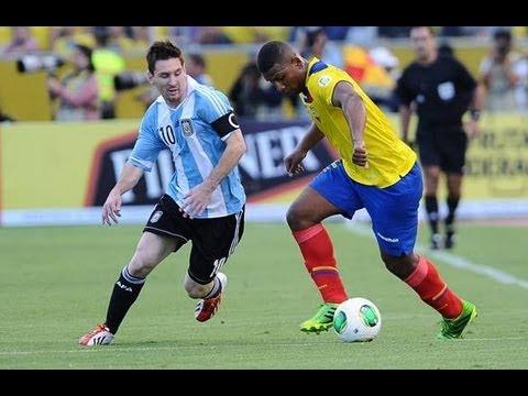 Lionel Messi vs Ecuador 11.6.2013 (World Cup 2014 Qualifiers)