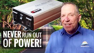 Power Up! Adding A Small Inverter to Your RV for Extended Battery Life | RV Lifestyle with Campskunk