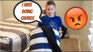 DOING CHORES WITH ME  | RHETT'S WORLD