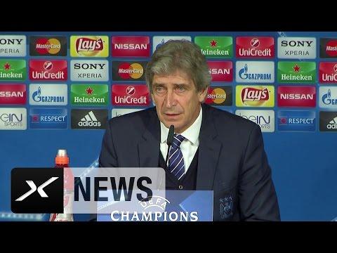 Manuel Pellegrini hofft auf Sergio Agüero | Real Madrid - Manchester City