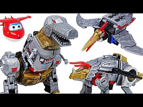 Bad dinosaurs appeared! Transformers Generations Power of the Primes dinobot! Go! - DuDuPopTOY
