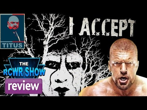 WWE Raw 2-9-15 Review: Brock Lesnar! Sting Answers Triple H! Seth Rollins Nude Pics?! The RCWR Show