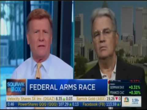 Dr. Tom Coburn, SquawkBox CNBC - Militarization of America