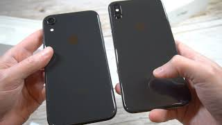 iPhone XR Black Unboxing and Overview