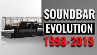 The EVOLUTION of the Soundbar (1998 - 2019) | Fun Facts You Didn't Know about Soundbars
