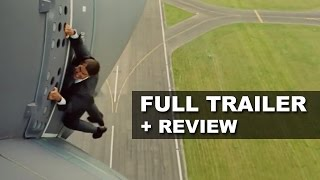 Mission Impossible 5 Rogue Nation Official Teaser Trailer + Trailer Review : Beyond The Trailer