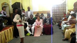 Ohemaa Mercy at Int. Prophetic Resurrection and End Time MInistries - London.AVI