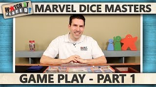 Marvel Dice Masters - Game Play 1