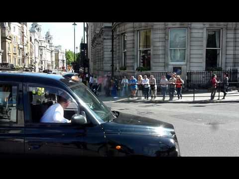 London Ambulance Service Honda Rapid Response Motorbike On Emergency Call