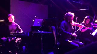 On The Nature Of Daylight Max Richter Live At Le Poisson Rouge