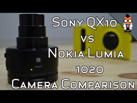 Nokia Lumia 1020 vs Sony QX10 - Camera Review & Comparison