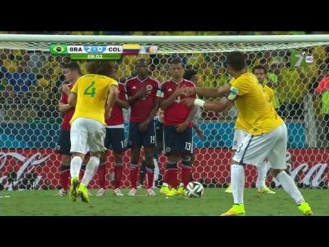 Golazo de David Luiz vs Colombia 2016 Partido Completo HD en Descripción