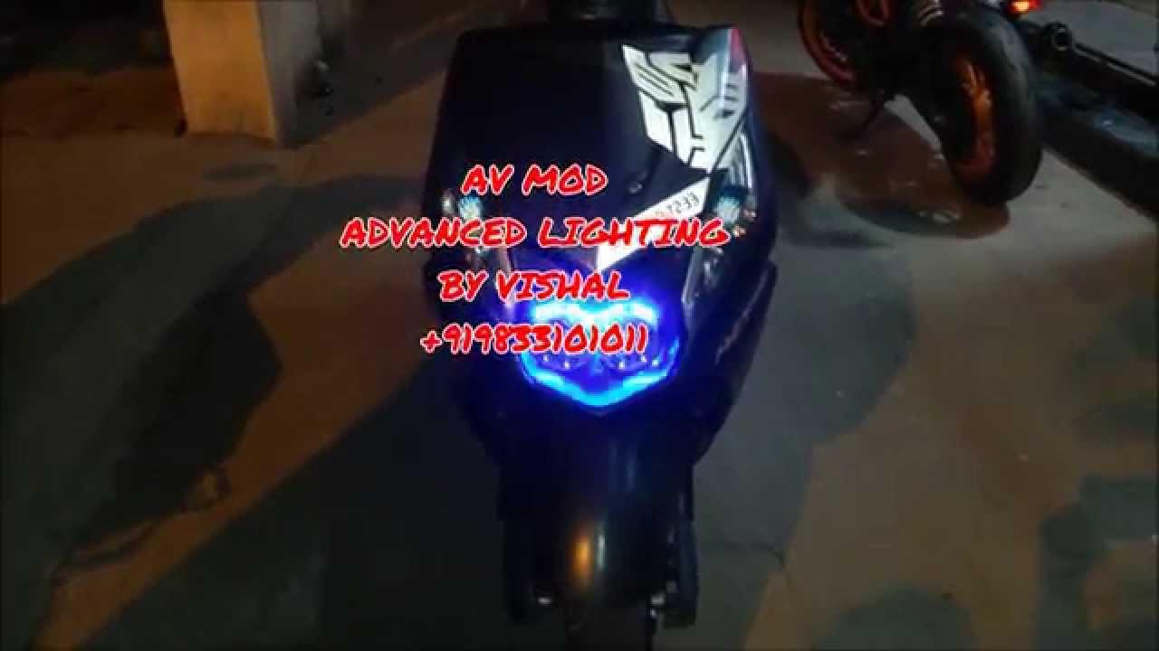 Honda Dio Led Super Bright