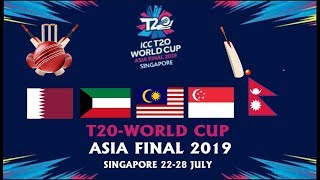ICC Men's T20 World Cup Asia Region Final 2019//ABIJEET DULAL//