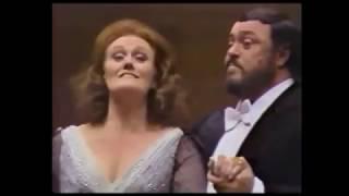 Joan Sutherland Luciano Pavarotti Richard Bonynge 1979