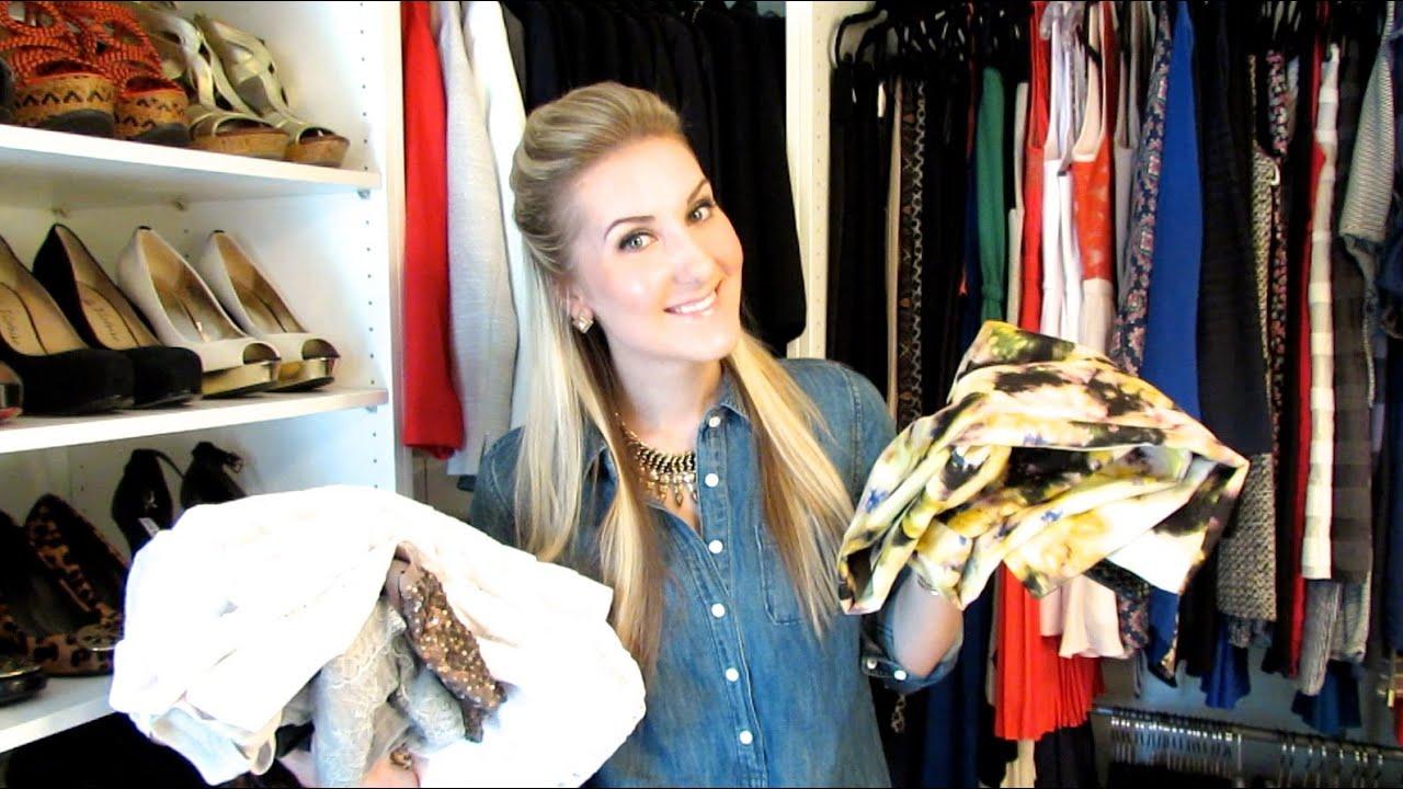 Let's Clean Out My Closet! Organization & De-Cluttering ...