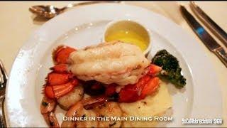 [HD] Carnival Cruise Food Tour Overview - Dinner & Lido Deck Buffet - Cruise Buffet Tour