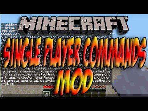 Minecraft 1.5.2/1.5.1 - Como Instalar SINGLE PLAYER COMMANDS MOD - ESPAÑOL [HD] 1080p