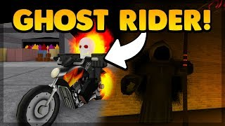 BECOMING GHOST RIDER & UNLOCKING THE HELLFIRE ABILITY! (ROBLOX SUPER POWER TRAINING SIMULATOR)
