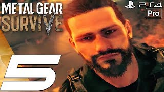 Metal Gear Survive - Gameplay Walkthrough Part 5 - Lord of Dust Attack (Full Game) PS4 PRO