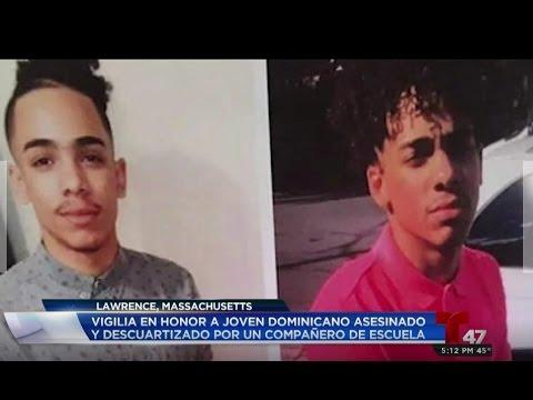 Vigilia en honor a joven dominicano asesinado y descuartizado por un compañero de escuela